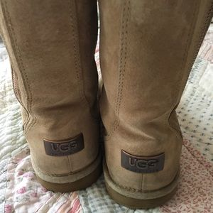 Uggs with side zipper